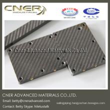 CNC cutting 100% carbon fiber, 3k twill carbon fiber sheet