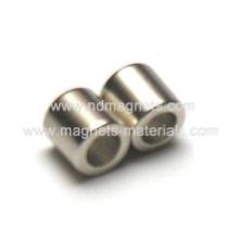 Imán permanente de tubo usado en electrónica