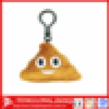 Porte-clés Custom Shit Poop Plush Emoji