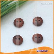 Botones de madera naturales para la prenda BN8003