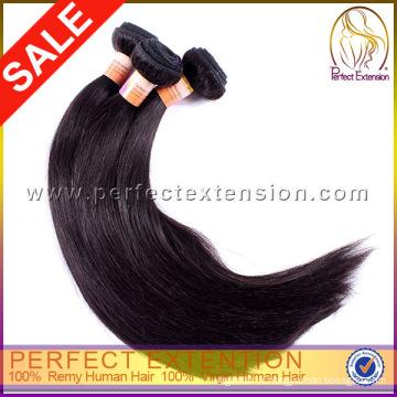 Cheveux vierge tout droit cambodgien et produits de beauté Clip Hair Extensions Dubai