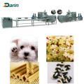 Darin pet dog food treats making machine/pet dog chewing food manufacturer