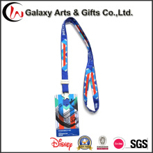 Card Holder Custom Polyester Lanyards with Printed Logo