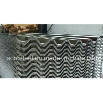 Corrugated Galvanized Steel Sheet for Roofing