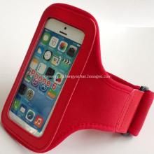 Красный неопрена спортивных повязки для подарка промотирования