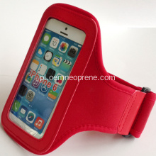 Red Neoprene Sports Armbands to upominek promocyjny