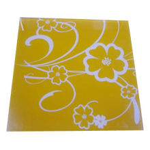 Silkscreen printing glass, suitable for decoration, used in canopies