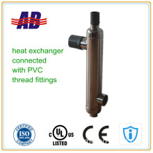 CE Approved Solar Pool Heater Heat Exchanger