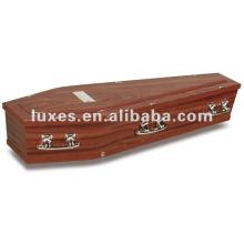 Ataúd de madera sólida