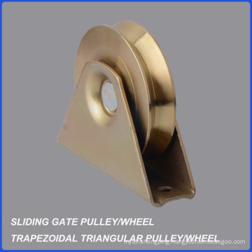 Factory Wholesale Trapezoidal Triangular Gate Pulley Wheel