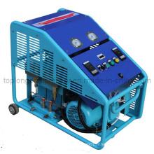 Sans huile Oilless Medical O2 Oxygène Helium Nitrogen Argon Hydrogen Compresseur CNG