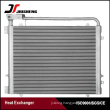 Bar And Plate Excavator Oil Cooler For PC220-7