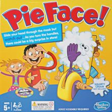 Pie Face Party Toy Funny Carnival Novelty Toys