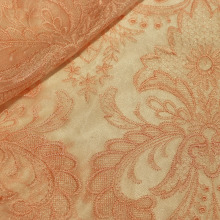 Polyester Embroidery Fashion Fabric for Garment