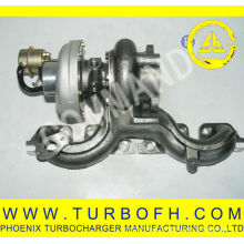 GT2256MS isuzu turbo manifold for truck