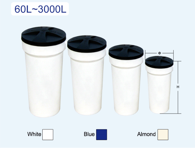 Cone-shape Round Brine Tanks specification