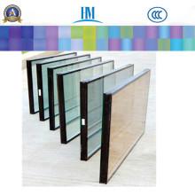 Dekoratives Isolierglas, Farbe / Klarglas für die Beschickung