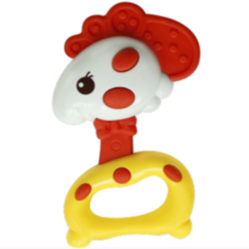 An toàn Chick Shape Baby Music Toy Ring