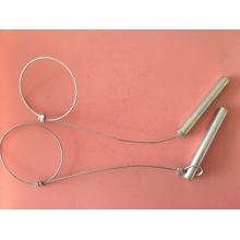 Pin de soporte de material con cable / sin construcción de alambre