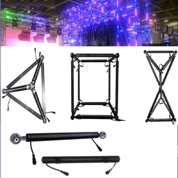 DJ Booth Dmx Led Rgb Triangle Bar