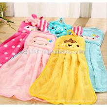 dekorative Handtücher der Mikrofaserkarikatur