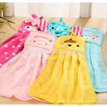 microfiber cartoon decorative hand towels