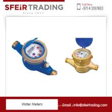 Medidor de água de rotor e ferro fundido e ferro fundido