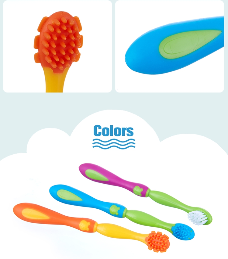 silicone toothbrush head