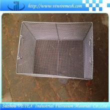 Alkali-Resisting Stainless Steel Wire Mesh Basket