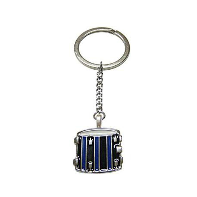 Toned Drum Musical Instrument Keychain