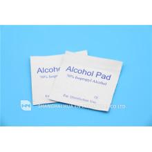 Almohadilla estéril médica de alcohol isopropílico