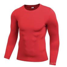 Homens Fitness & Sports Vestuário de manga comprida de secagem rápida T-shirt