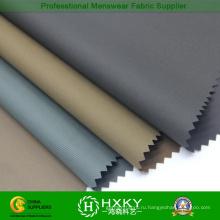 Покрытые полосатый дизайн печатных Поли ткань для мужской куртки