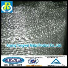 Galvanizado malla de alambre cuadrada / malla de alambre de hierro galvanizado (fábrica directa) made in china