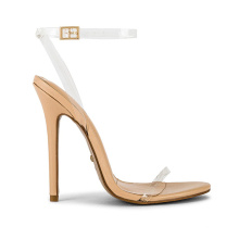 Customs genuine leather shoes Ankle Band Strap High Heels for ladies high quality women's Sandals