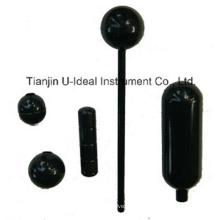 Bola flutuante de aço inoxidável para indicador de nível de água de aleta magnética