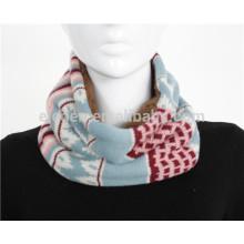 Acrylic knitted neck gaiter