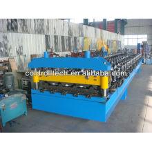 Máquina de fabricación de chapa para techos