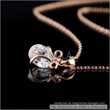 VAGULA ovale Bauform Zirkon Halskette (Hln16359)