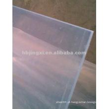Folha rígida pvc não tóxica transparente; folha rígida de plástico