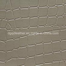 Design de crocodilo wigh couro muito macio sensação de mão (qdl-53231)