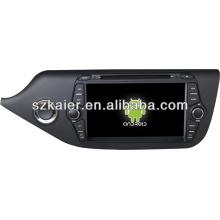 Системы андроида 4,1 удваивает сердечник автомобилей мультимедиа для Kia Ceed в 2014 с GPS/Bluetooth/телевизор/3G/беспроводной
