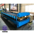 Building material corrugated roof sheet making machine