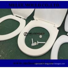 Moule en plastique de couverture de Flip-Open de toilette en plastique