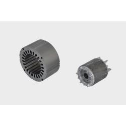 Air core motor lamination