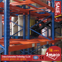 Warehouse Large Scale Racking 5 års garanti / dubbel djup pallstativ