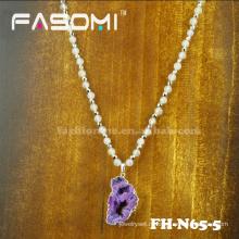 2015 году последний дизайн Друза кулон ожерелье
