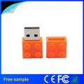 2016 China fabricante PVC USB2.0 Building Block USB Flash Drive