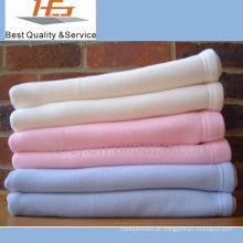 cobertor polar home do velo do hotel do algodão de matéria têxtil