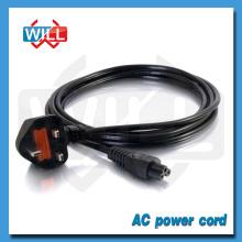 Câble d'alimentation fusible standard britannique série BS UK avec prise CEI